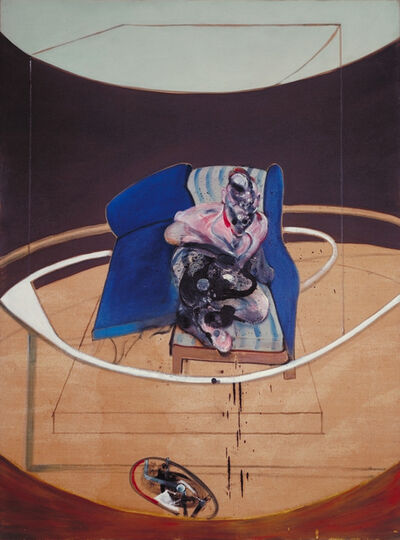 Francis Bacon, 'Study for Portrait on Folding Bed', 1963