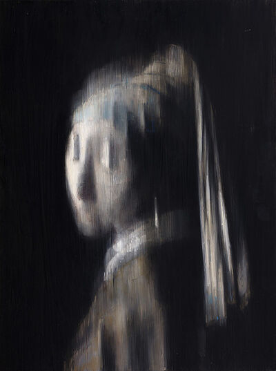 "Valerio D'Ospina, '""B.I. (The Girl with the Pearl Earring)""', 2015"