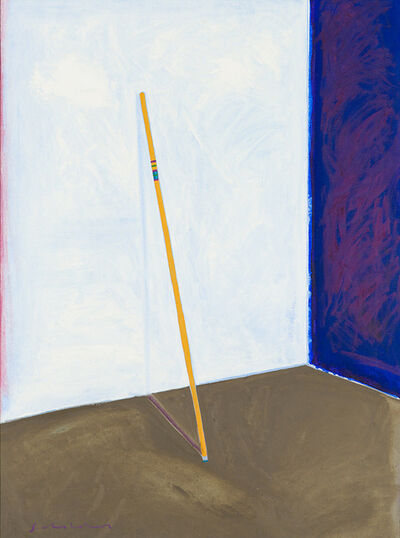 Fritz Scholder, 'Against the Wall', 1985