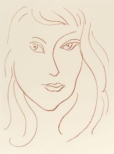 Henri Matisse, 'La Peine Dévidée - Visages No 6', 1946