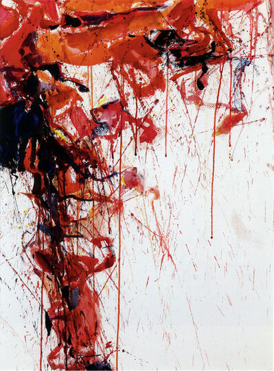 Sam Francis, 'Study for Red', 1958