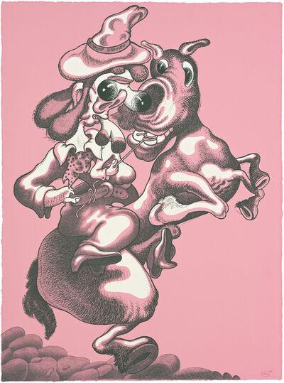 Peter Saul, 'Cowboy Dentist', 1983