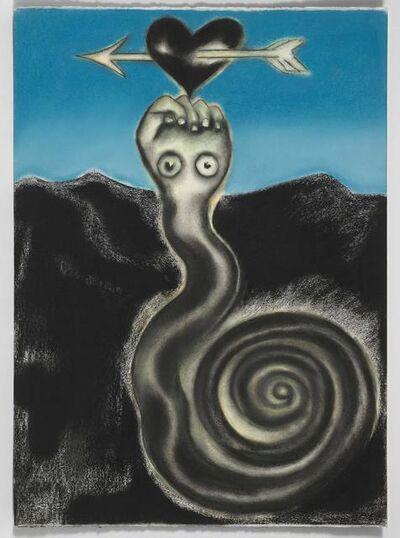 Francesco Clemente, 'Ex Libris Chenonceau 'Semana Santa I'', 1994
