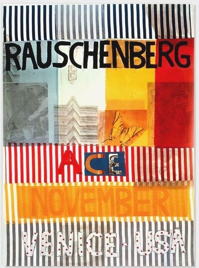 Robert Rauschenberg, 'Ace, November, Venice, USA ', 1977