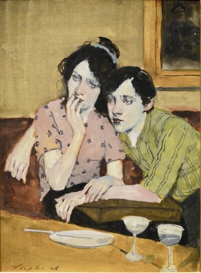 Malcolm T. Liepke, 'Couple In Cafe ', 2007