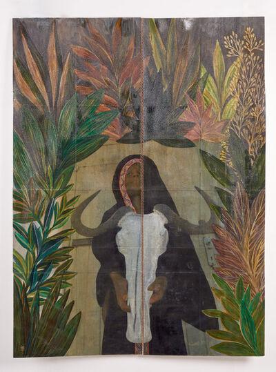 Tuli Mekondjo, 'Edalo la Ngalangobe (The birth of Ngalangobe)', 2020