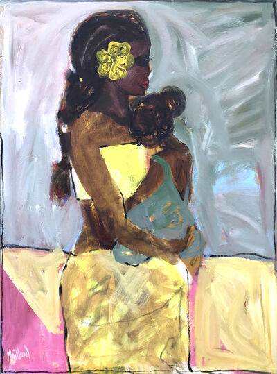 John Maitland, 'Yellow Flower', 2019