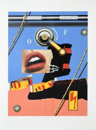 Peter Klasen, 'Grande Bouche / Manette', 2004