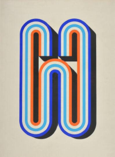 Luis Wells, 'Sin título (Azul y Rojo)', ca. 1970
