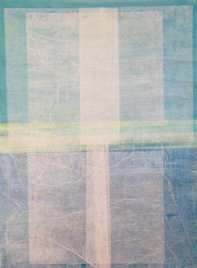 Bastienne Schmidt, 'Turquoise Geometry 3', 2017