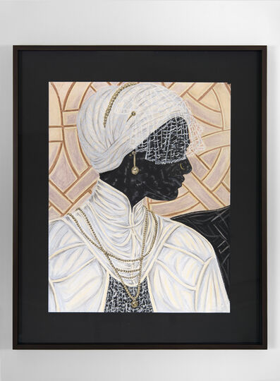 Toyin Ojih Odutola, 'The Bride', 2016