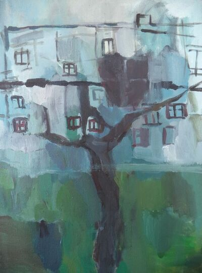 Margarita Božkaitė, 'Plum-tree in Lazdynai', 2017