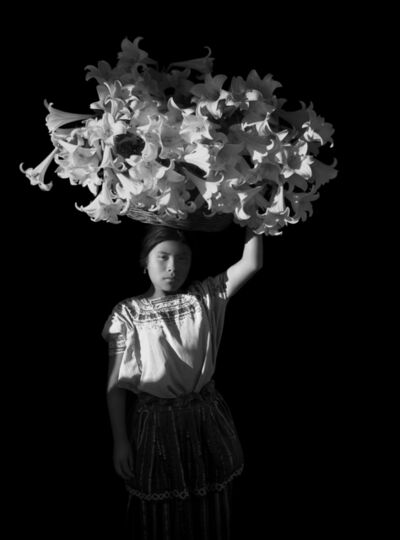 Flor Garduño, 'Canasta de luz', 1989