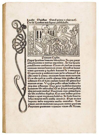 Bämler-Meistesr, 'Speculum humanae salvationis', 1473