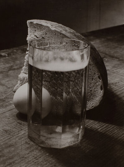 Josef Sudek, 'Bread, Egg and Glass', ca. 1950-54 / printed 1960s