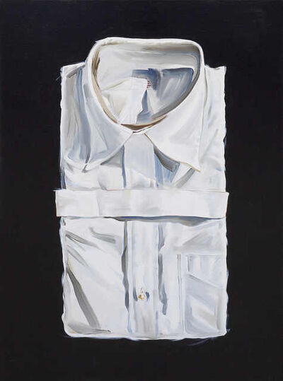 Donald Bradford, 'Folded Shirt on Black', 2019