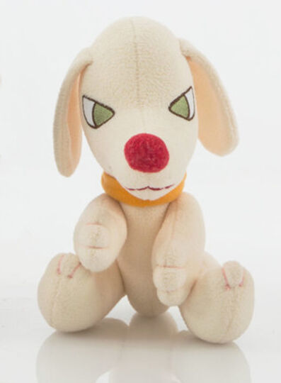 Yoshitomo Nara, 'Walk On Pup Dog White Plush Toy', 2010-2020
