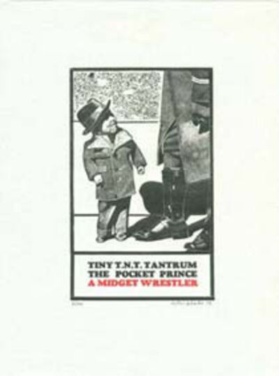 Peter Blake, 'Tiny Tim T.N.T. (from eighteen small prints)', 1973