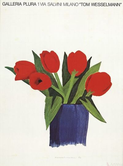 Tom Wesselmann, 'Tulips in a Vase', 1985