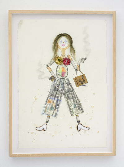 Aurel Schmidt, 'Trash Doll (Fancy Pants)', 2020