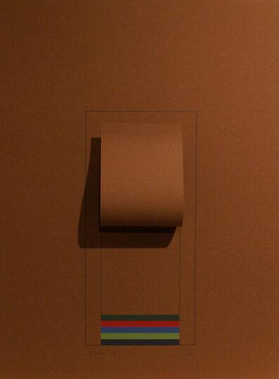 Robyn Denny, 'Mirrors (brown)', 1974