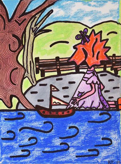 Robin Taylor, 'Jenny at the Boat Pond', 2018