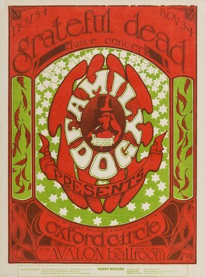 Stanley Mouse, 'Grateful Dead: a U.S. concert handbill', 1966