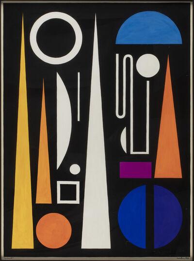 Auguste Herbin, 'Minuit', 1953