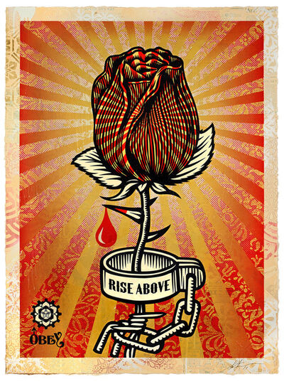Shepard Fairey, 'Rose Shackle', 2019
