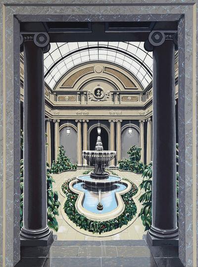 Richard Haas, 'Garden Court', 1979