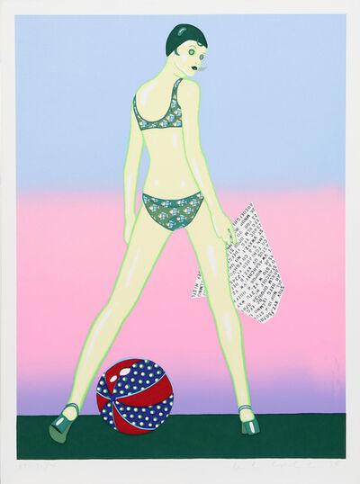 Kiki Kogelnik, 'Beach Ball', 1978