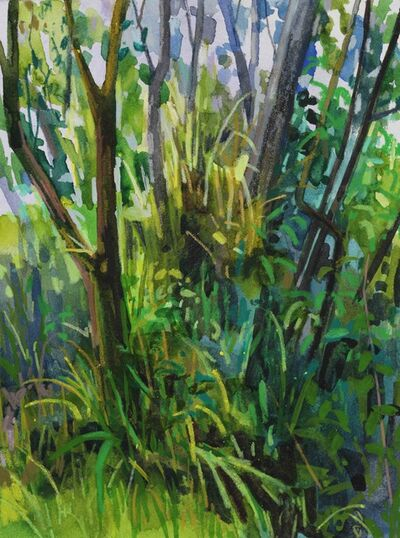 Claire Sherman, 'Trees and Grass', N/A