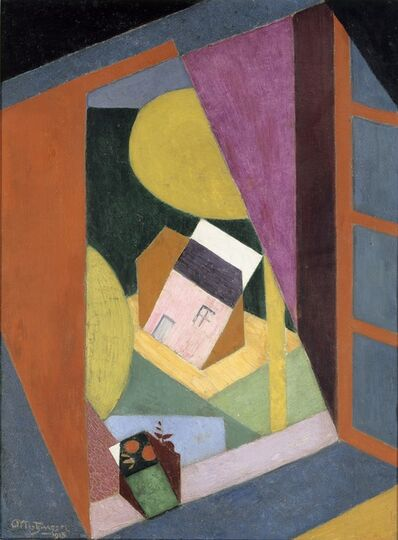 Jean Metzinger, 'Landscape with Open Window', 1915