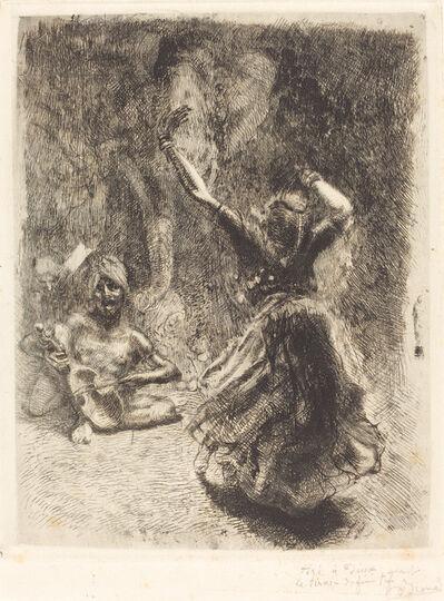 Albert Besnard, 'The Dancer of Tanjore (La bayadère de Tanjore)', 1914