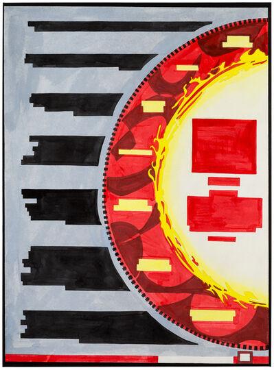 Navine G.Khan-Dossos, 'The Fire', 2017