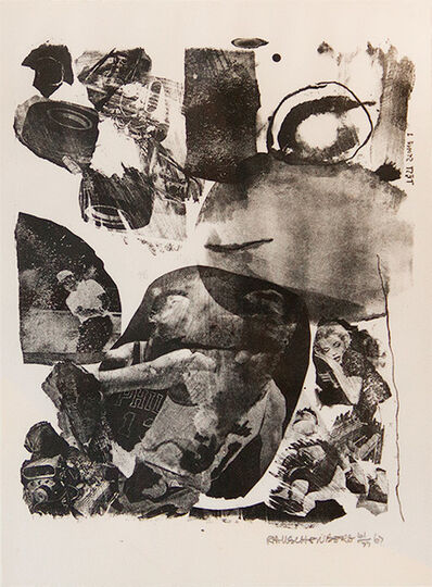 Robert Rauschenberg, 'Test Stone I', 1967