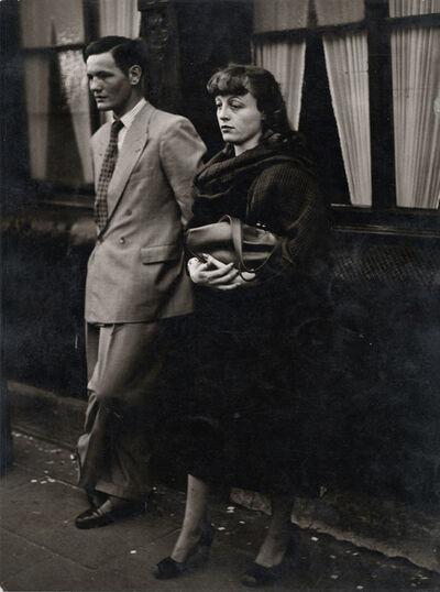 Chargesheimer (Karl-Heinz Hargesheimer), 'Undurchsichtiges Paar, Köln- Eigelstein', 1956