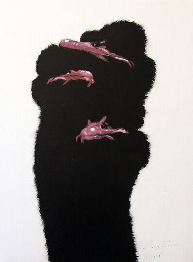 Josh Brown, 'Three Ostrich', 2020