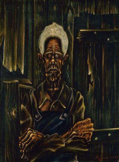 John Thomas Biggers, 'Sharecropper', 1945