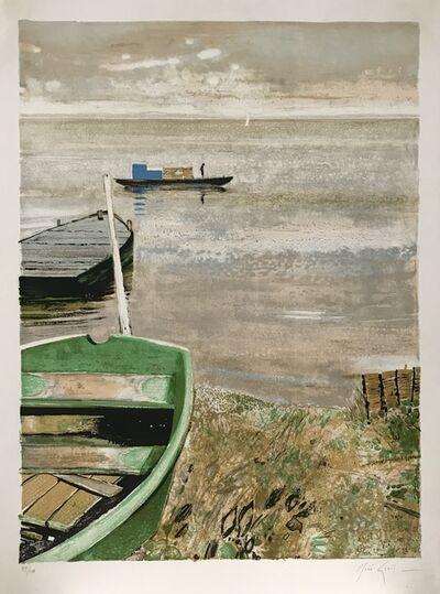 Rene Genis, 'La barque verte', 1980