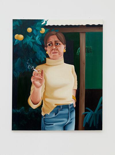 Madeleine Pfull, 'Smoker II', 2018