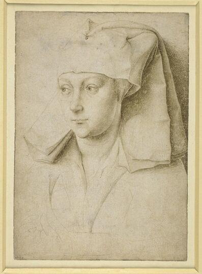 Rogier van der Weyden, 'Portrait of an unknown young woman', c. 1435