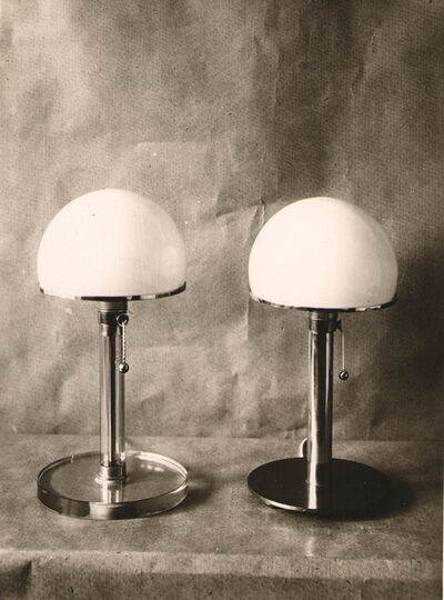 Wilhelm Wagenfeld, 'Bauhaus Table Lamps', 1924
