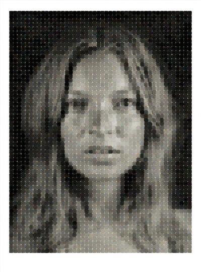 Chuck Close, 'Kate', 2013