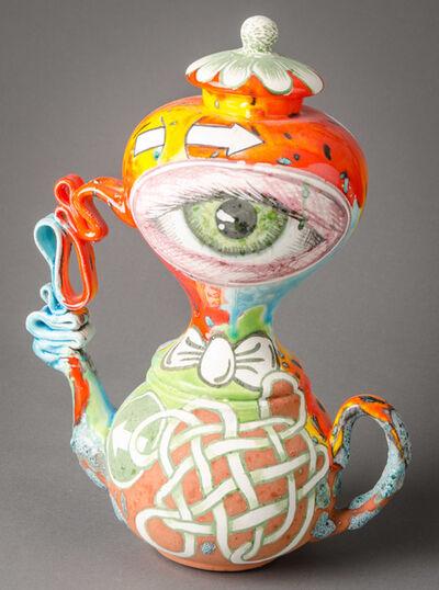 Michael Lucero, 'Double Eye Teapot #1', 2009