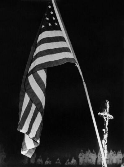 W. Eugene Smith, 'Ku-Klux Klan Rally South Carolina Series', 1950
