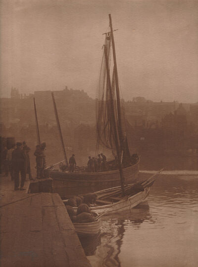 Frank Meadow Sutcliffe, 'Fishing Boat, Whitby, England', ca. 1890