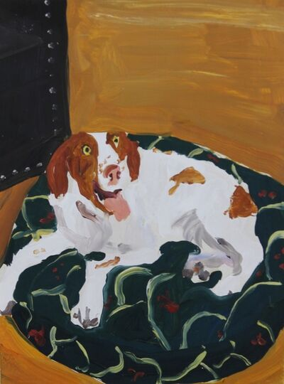 Chantal Joffe, 'Dog', ca. 1995