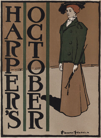Edward Penfield, 'Harper's October', 1897