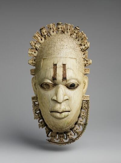 Unknown Edo (African), 'Queen Mother Pendant Mask: Iyoba', 16th century